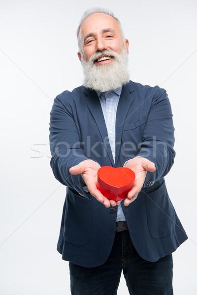 Man holding gift box  Stock photo © LightFieldStudios