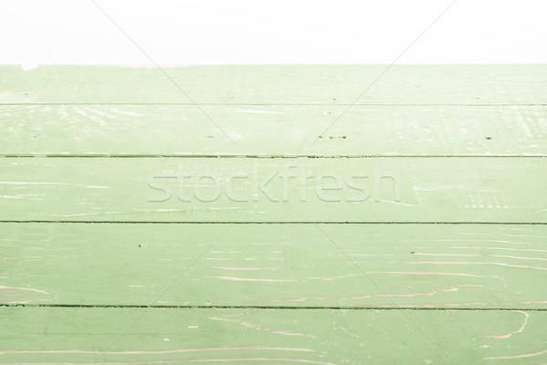 薄緑 木製 水平な 白 背景 ストックフォト © LightFieldStudios
