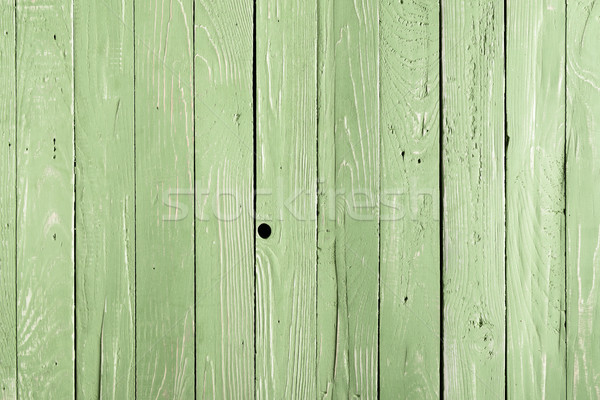 Light green wooden background with vertical planks Stock photo © LightFieldStudios