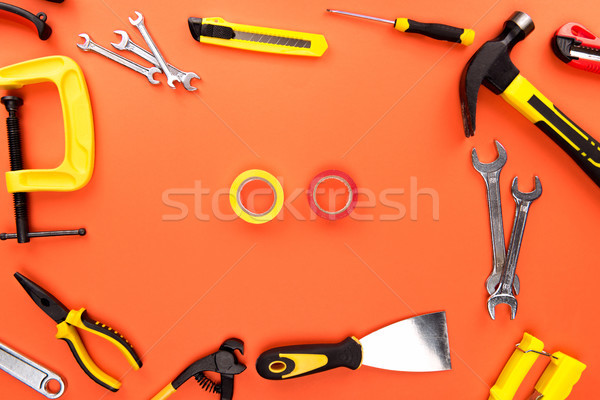 reparement tools and tape Stock photo © LightFieldStudios