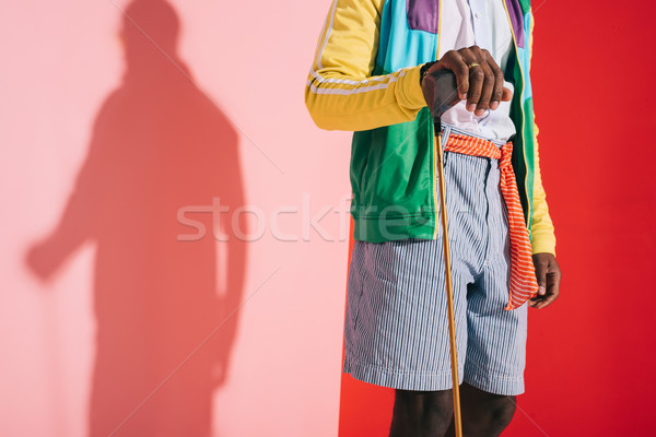 stylish man with golf club Stock photo © LightFieldStudios