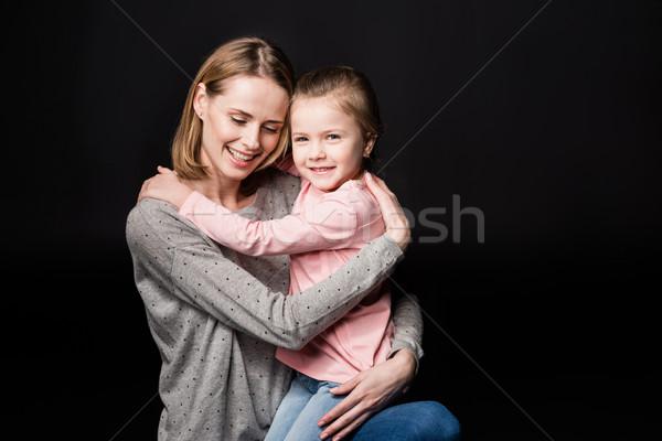 Happy mother with daughter Stock photo © LightFieldStudios