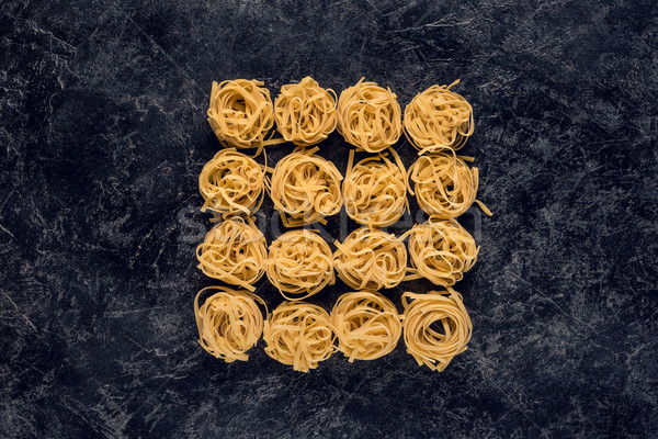 pasta nests Stock photo © LightFieldStudios