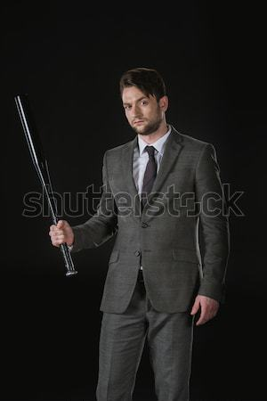 Handsome mature businessman Stock photo © LightFieldStudios