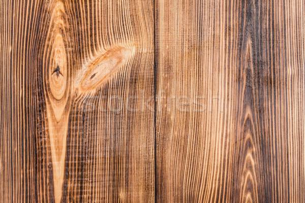 Full frame licht rustiek bruin houten verticaal Stockfoto © LightFieldStudios