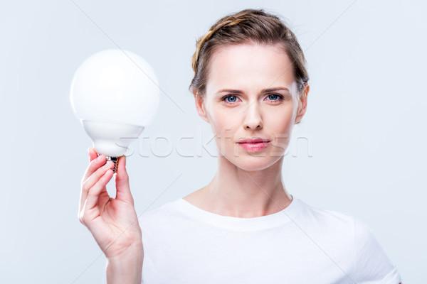 Stock photo: light bulb