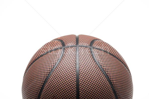 Basketbal bal shot een geïsoleerd Stockfoto © LightFieldStudios