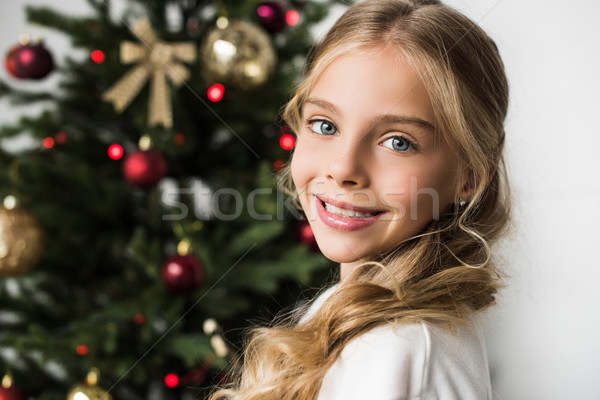 smiling child Stock photo © LightFieldStudios