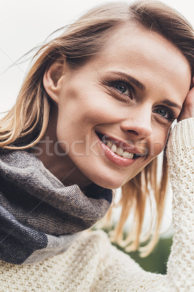 woman in autumn outfit  Stock photo © LightFieldStudios