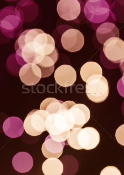 Abstract viola bokeh texture cavo buio Foto d'archivio © LightFieldStudios