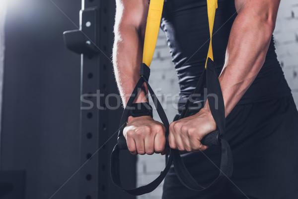 TRX Suspension Training Stock photo © LightFieldStudios