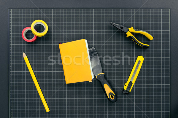 Notebook and reparement tools Stock photo © LightFieldStudios