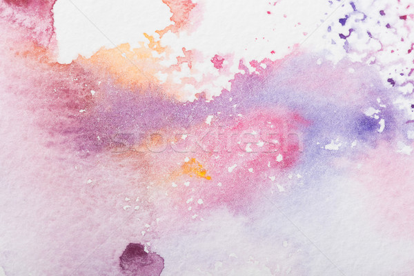 colorful watercolor stains Stock photo © LightFieldStudios
