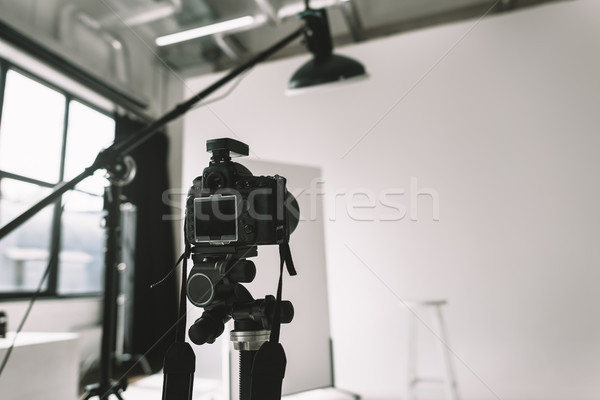 digital camera in photo studio  Stock photo © LightFieldStudios