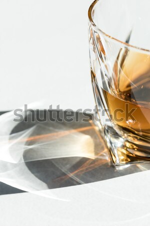 whiskey in glasses with shadows      Stock photo © LightFieldStudios