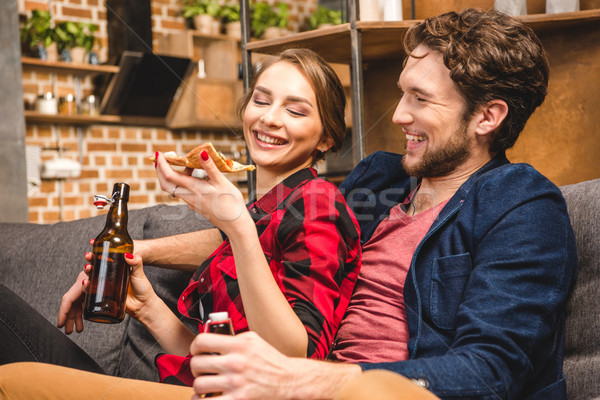 couple spending time together  Stock photo © LightFieldStudios