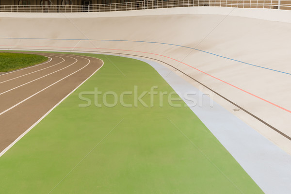 cycle race track Stock photo © LightFieldStudios