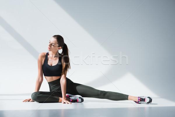 young sportswoman Stock photo © LightFieldStudios