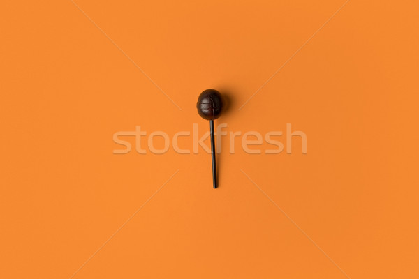 black halloween lollipops Stock photo © LightFieldStudios
