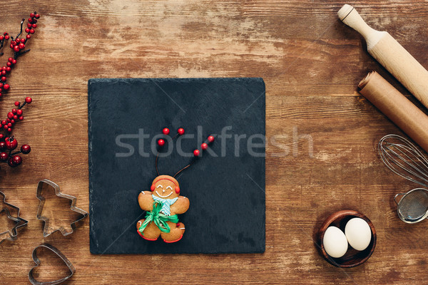 gingerbread man Stock photo © LightFieldStudios