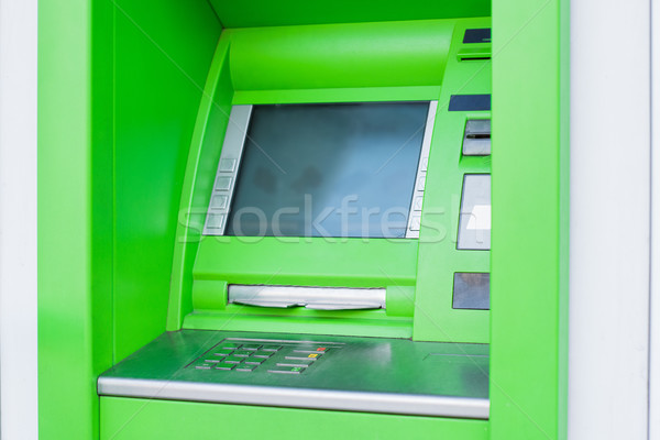 Atm coup trésorerie machine argent Photo stock © LightFieldStudios