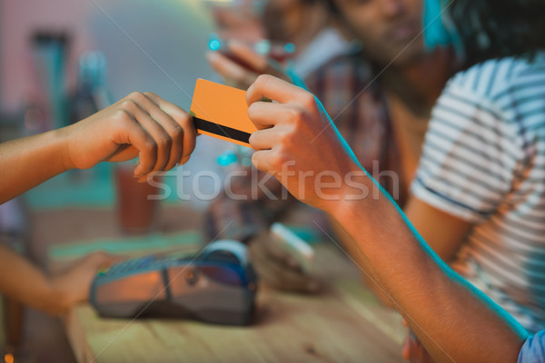 payment with credit card Stock photo © LightFieldStudios