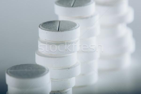 Stockfoto: Witte · grijs · geneeskunde