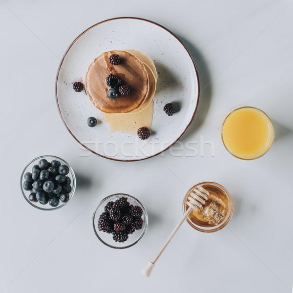 Top мнение свежие вкусный меда Сток-фото © LightFieldStudios