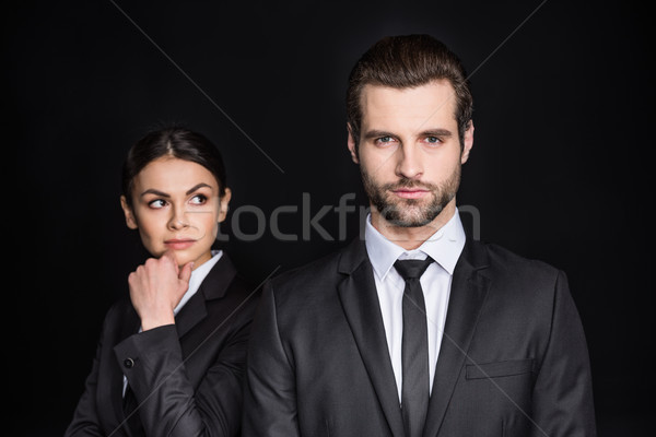 Young confident businesspeople  Stock photo © LightFieldStudios