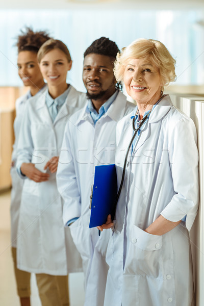 multiracial group of doctors Stock photo © LightFieldStudios