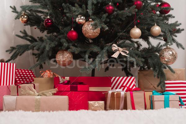 christmas gifts Stock photo © LightFieldStudios
