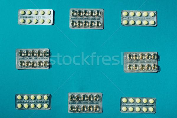 medicine in blister packs Stock photo © LightFieldStudios