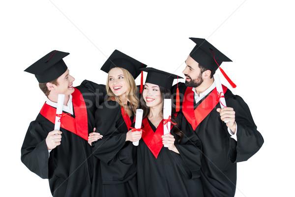 счастливым студентов академический Постоянный человека Сток-фото © LightFieldStudios