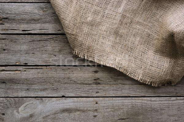 мешок одежды полный кадр поверхность текстуры Сток-фото © LightFieldStudios