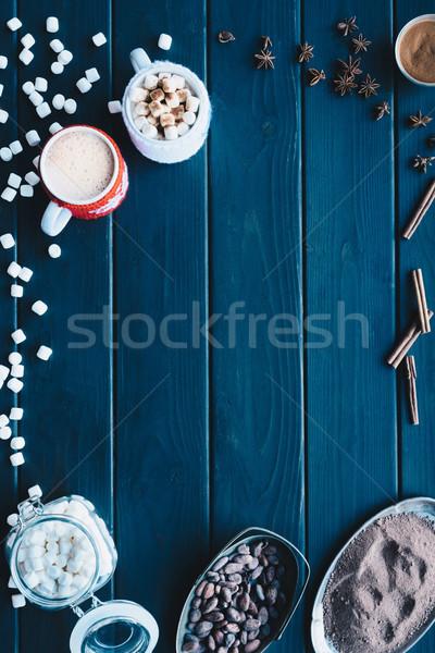 Kakao içmek baharatlar taze Stok fotoğraf © LightFieldStudios