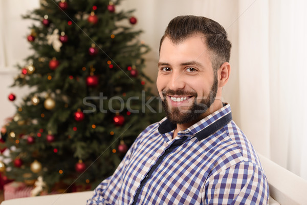 handsome smiling man Stock photo © LightFieldStudios