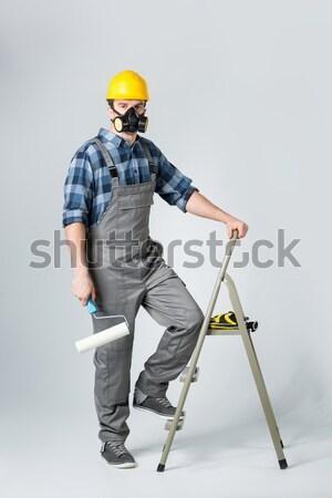 Professional construction worker Stock photo © LightFieldStudios