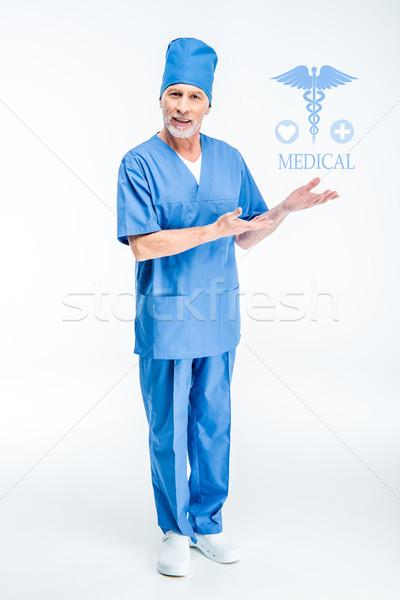 Senior male surgeon Stock photo © LightFieldStudios
