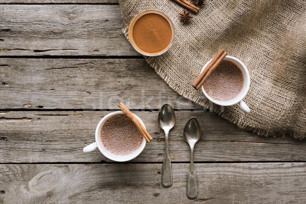 какао специи таблице Top мнение Сток-фото © LightFieldStudios