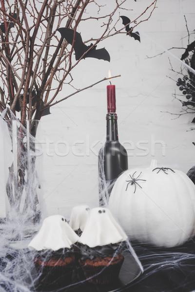 Zdjęcia stock: Halloween · dekoracje · widoku · duch
