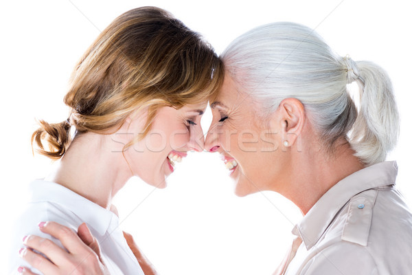 touching foreheads Stock photo © LightFieldStudios