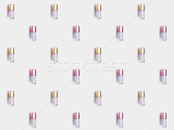 nail polishes Stock photo © LightFieldStudios