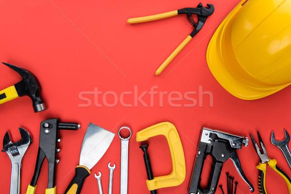 Tools top shot verschillend Stockfoto © LightFieldStudios