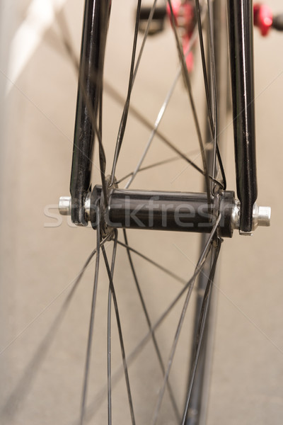bicycle wheel Stock photo © LightFieldStudios