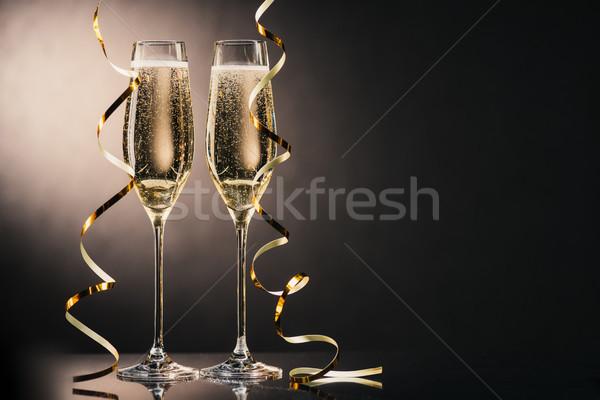 眼鏡 シャンパン 表示 2 ストックフォト © LightFieldStudios