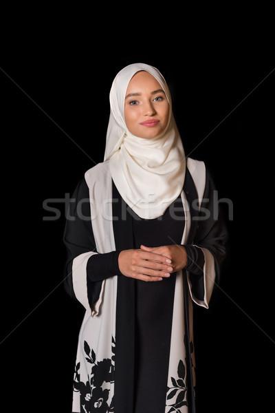 muslim woman in traditional clothing Stock photo © LightFieldStudios