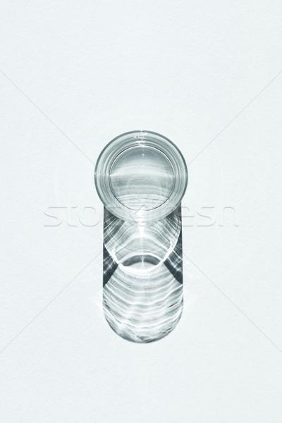 ジン 先頭 表示 冷たい ガラス 影 ストックフォト © LightFieldStudios