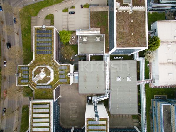 Topo ver edifícios urbano cidade Alemanha Foto stock © LightFieldStudios