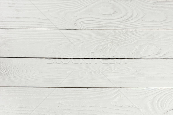 Close-up view of white textured wooden background from wooden planks Stock photo © LightFieldStudios