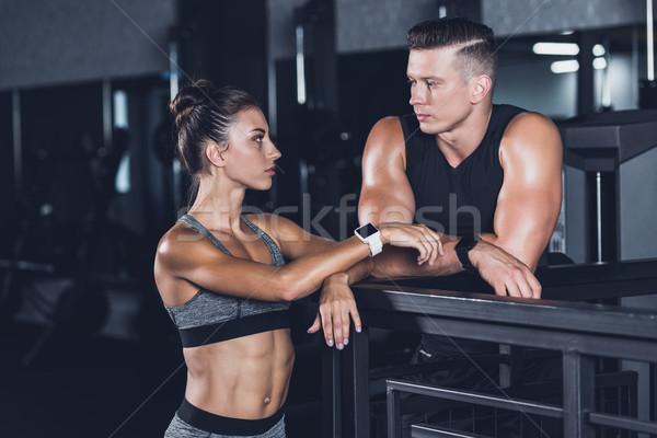 athletic couple  Stock photo © LightFieldStudios
